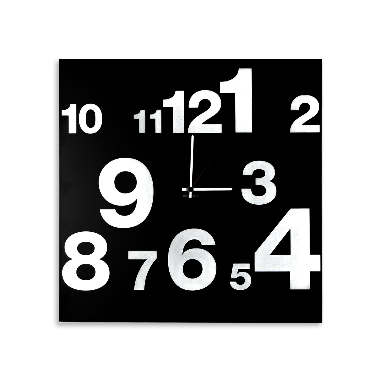 orologio-parete-design-wall-clock-numbers-line-black