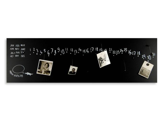 calendario-perpetuo-lavagna-magnetica-perpetual-calendar-magnetic-board-design-kro2-black