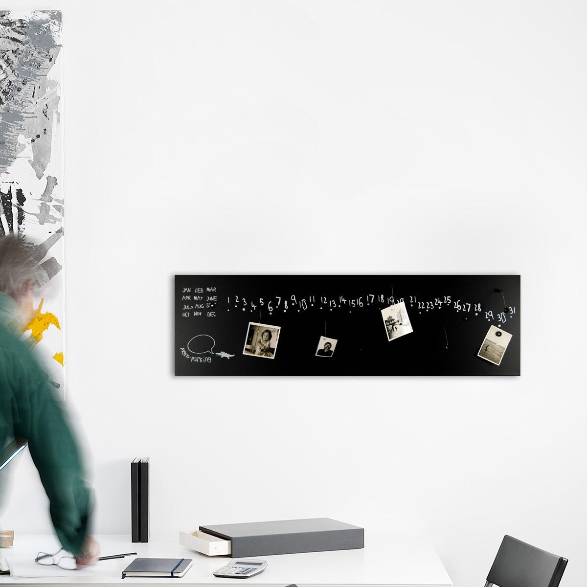 calendario-perpetuo-lavagna-magnetica-perpetual-calendar-magnetic-board-design-mood-kro2-black