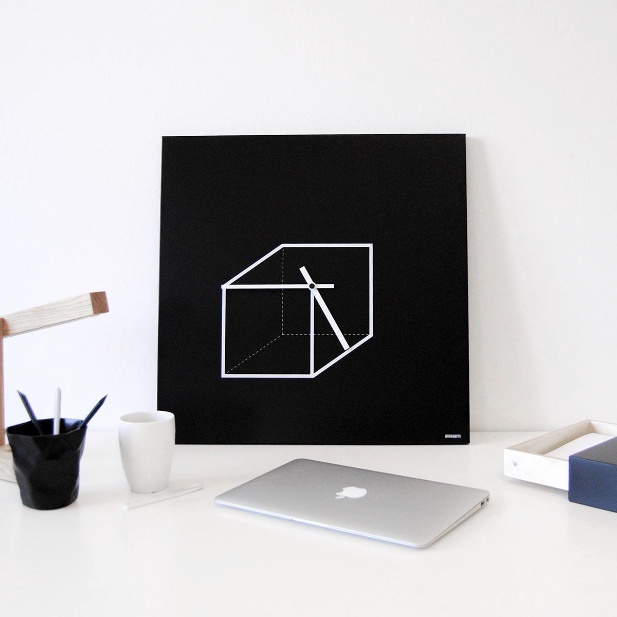 oroloigo-parete-design-wall-clock-geometric-cube