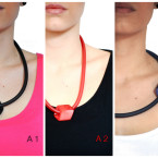 TOT-a-necklace-pvc-design-colors-red-black-white-minimal