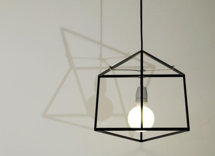 divina proportione geometric lamp