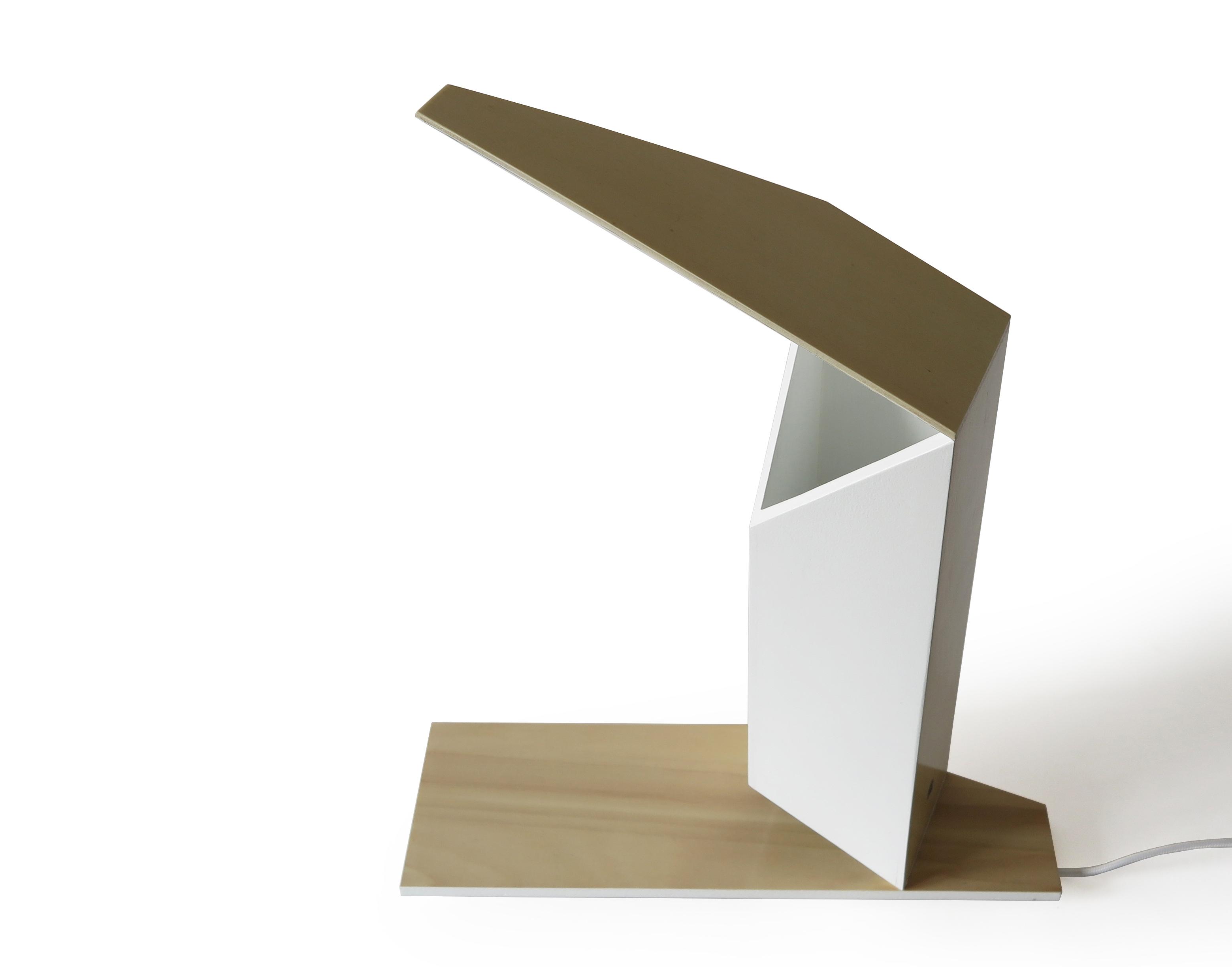 Haiku wooden lamp