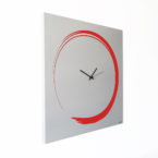 orologio-parete-design-calligrafia-wall-clock-decoration-enso-red