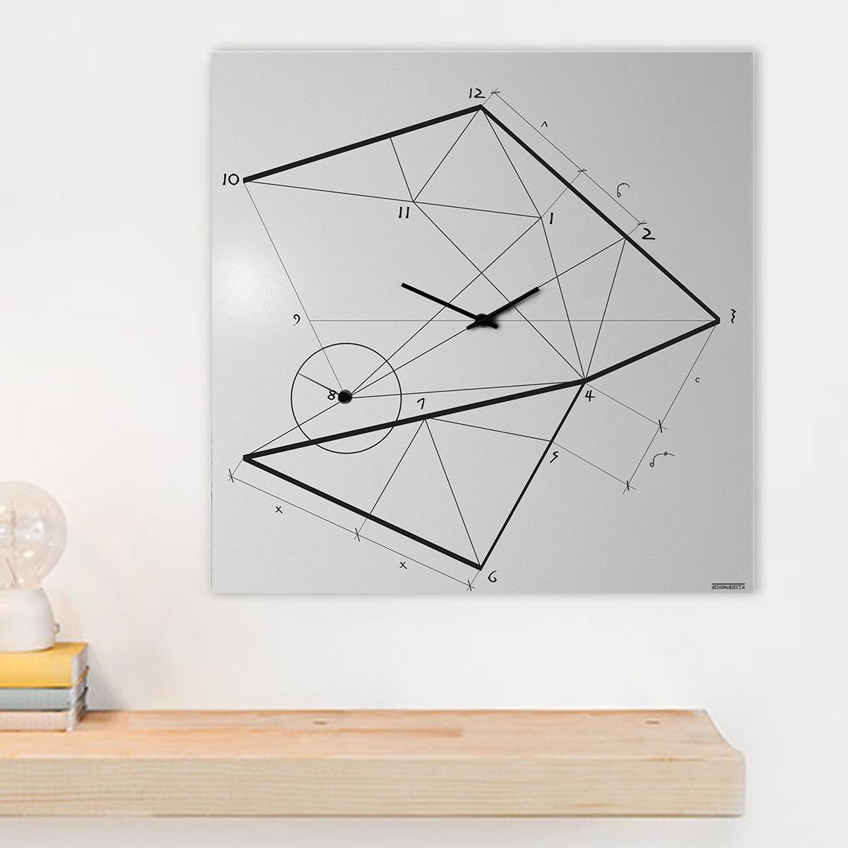 orologio-parete-design-wall-clock-mood-time-line-white