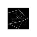 orologio-parete-design-wall-clock-time-line-black