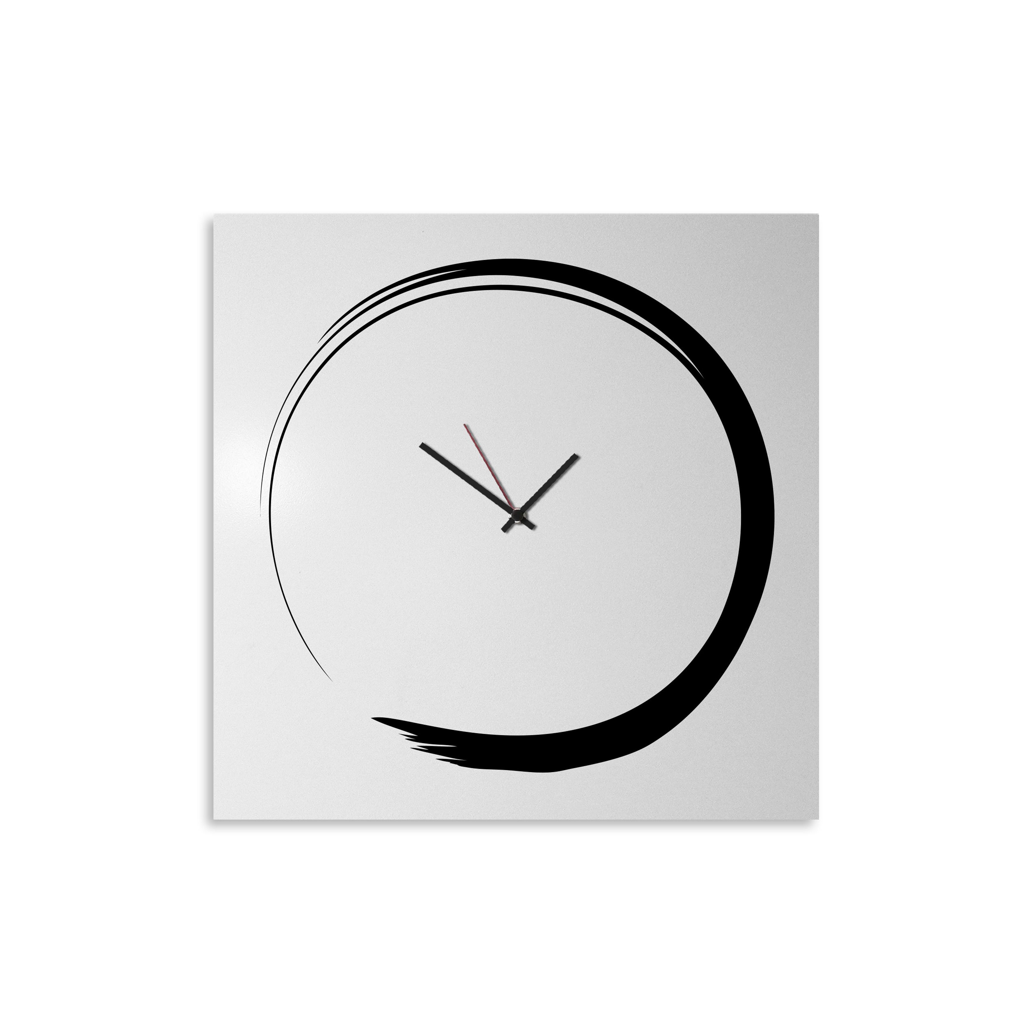 Orologio da parete stile giapponese designobject - Orologio design parete ...