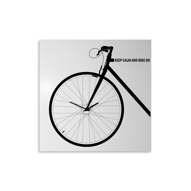 Orologio di design da parete bike designobject - Orologi di design da parete ...