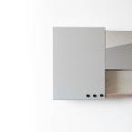 Slide White Mirror Config 3