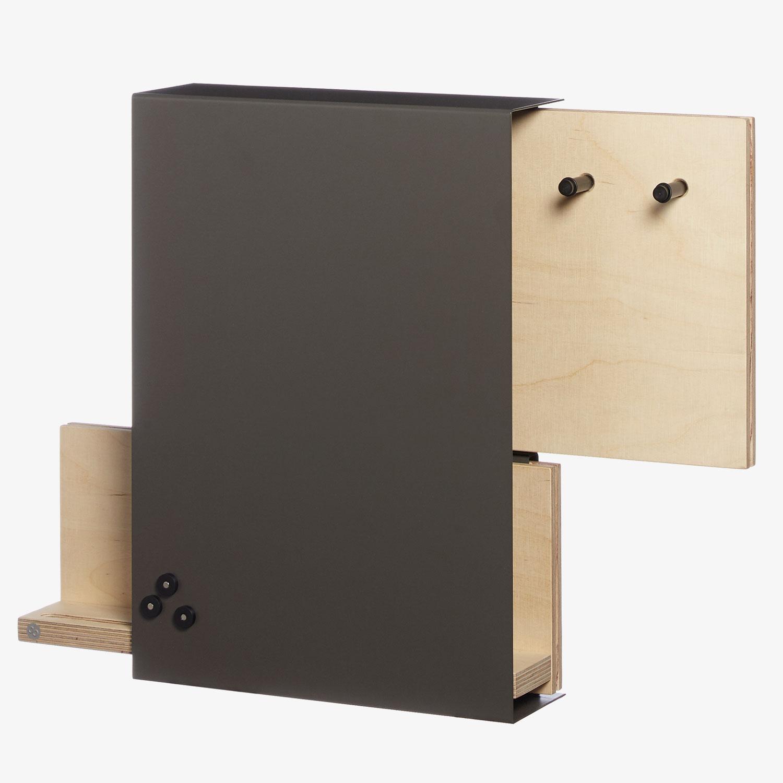 lavagna magnetica di design organizer keyholder