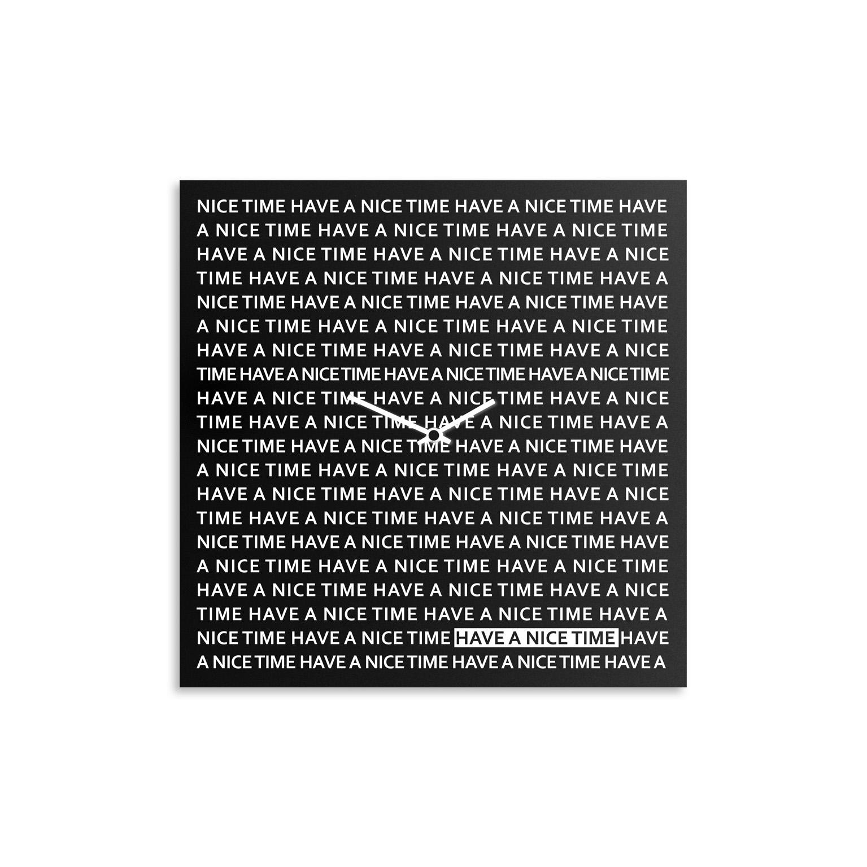 orologio-parete-design-wall-clock-nice-time-black