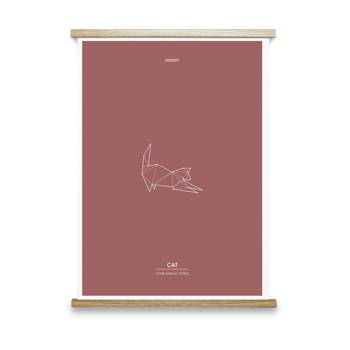 cat-animal-totem-art-print