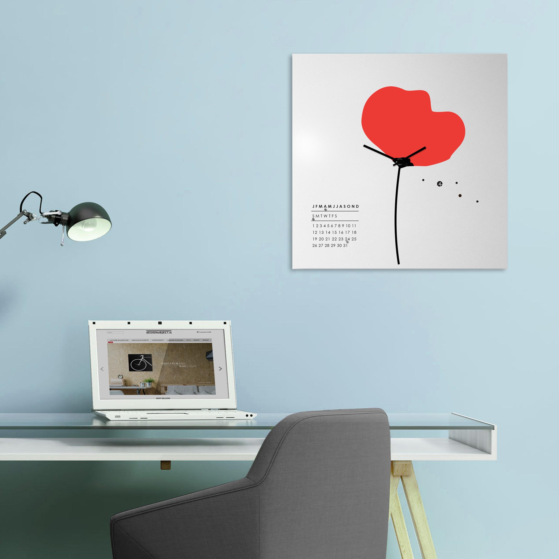 orologio-parete-design-calendario-perpetuo-wall-clock-perpetual-calendar-design-mood-papavero