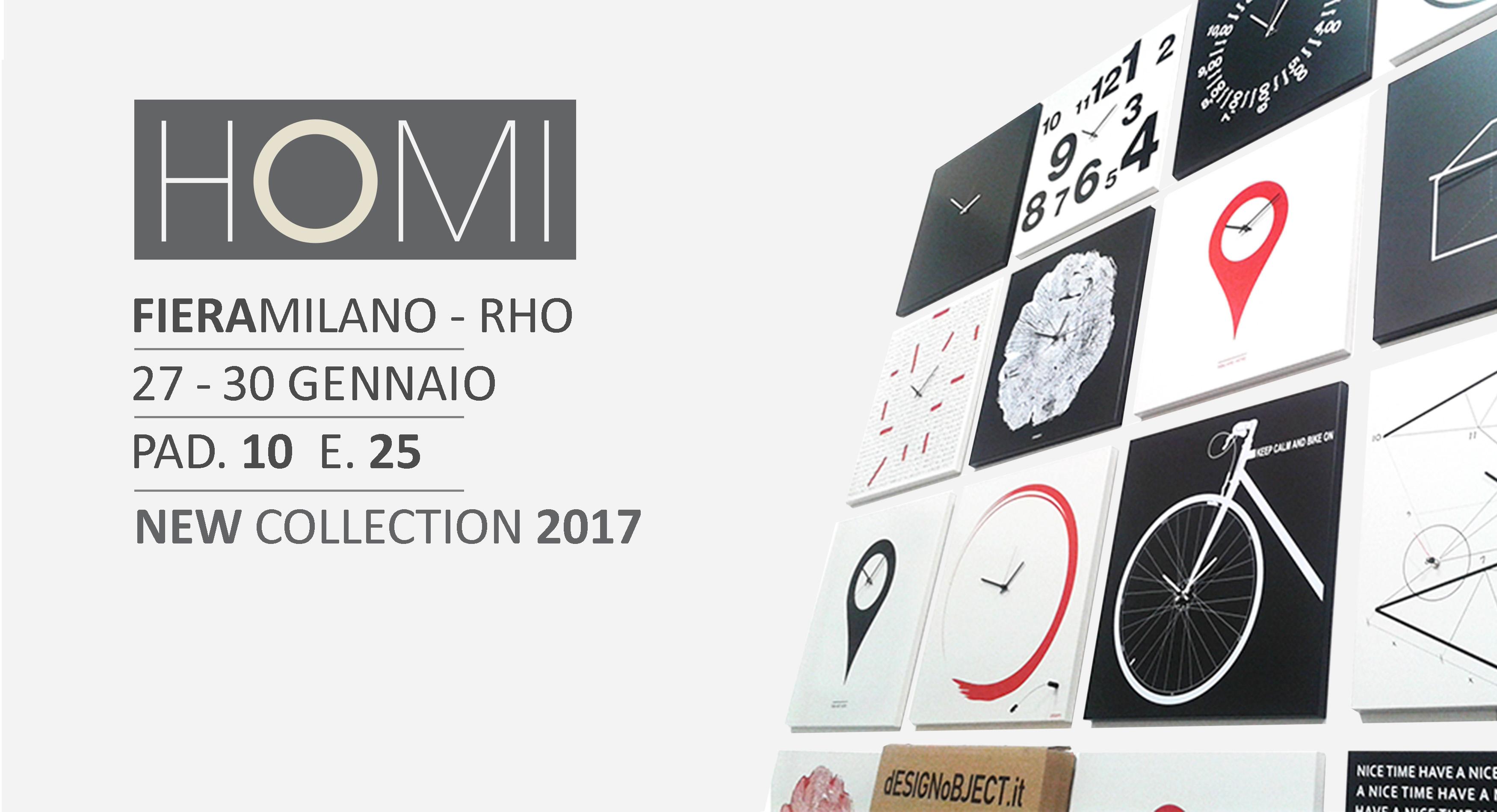 design clocks Homi 2017