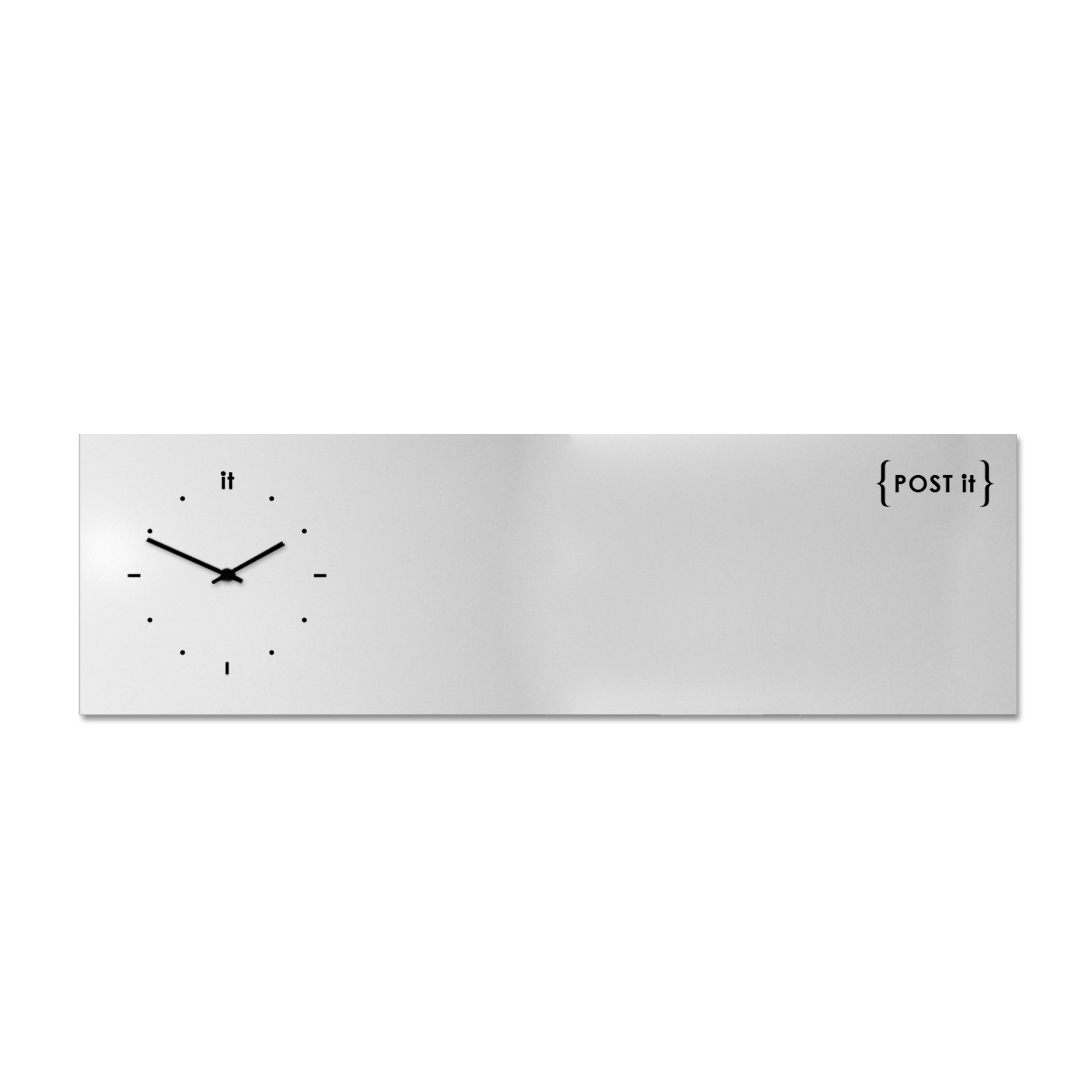 design-clock-magnetic-board-orologio-lavagna-magnetica-post it-white