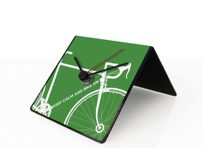Bike clock green