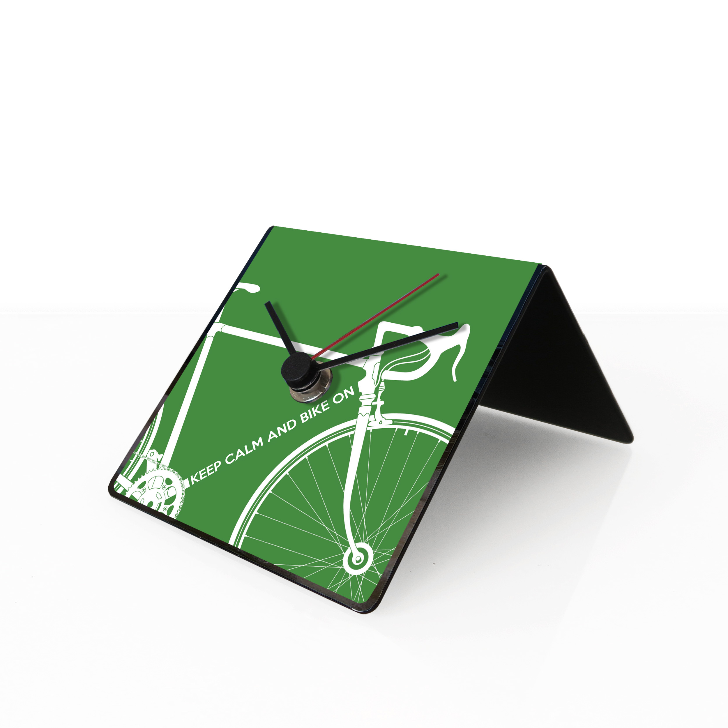 Bike clock green