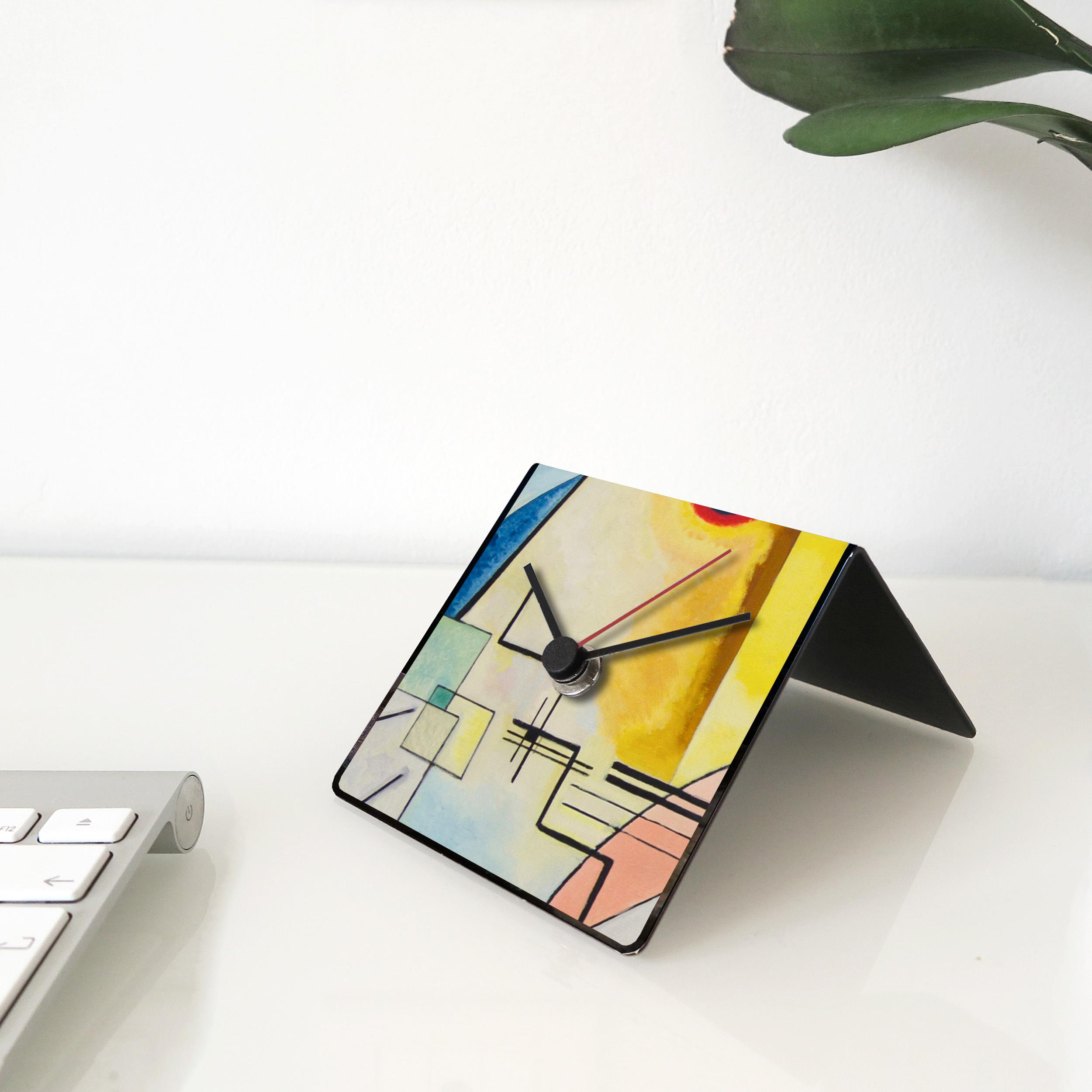 Kandinsky art desk clock designobject