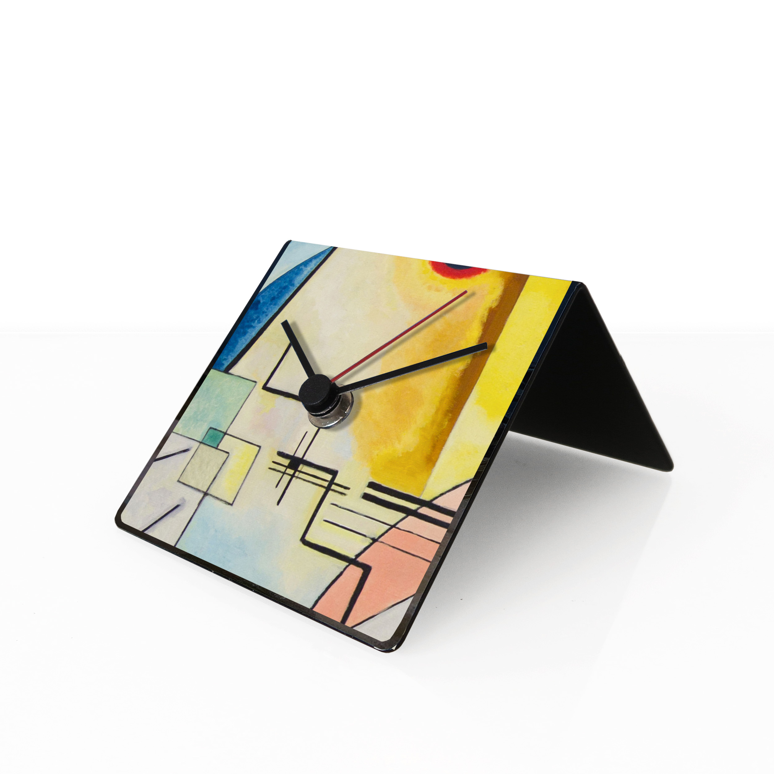 kandinsky art clock designobject