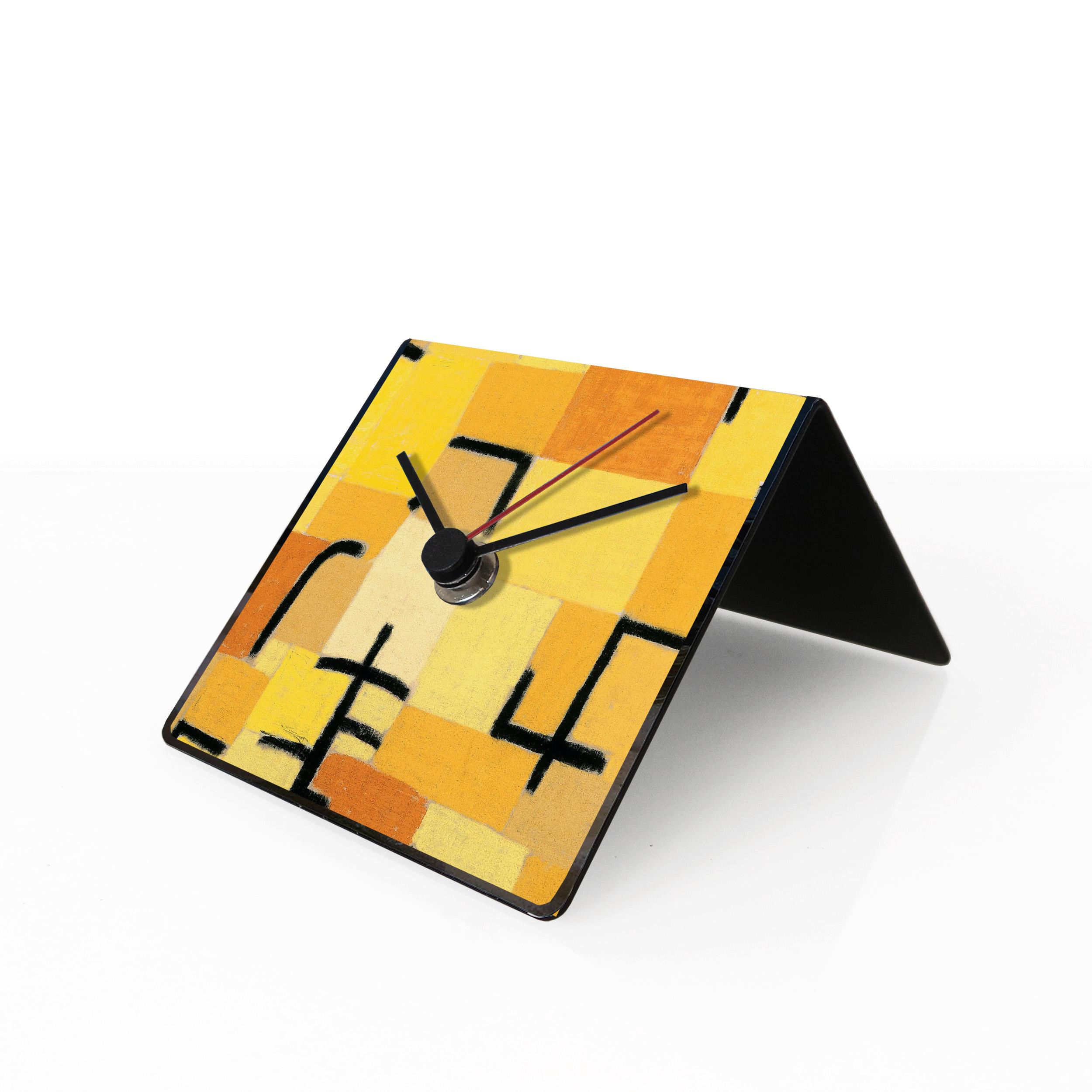 klee art clock designobject