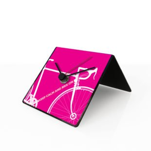 Bike clock pink