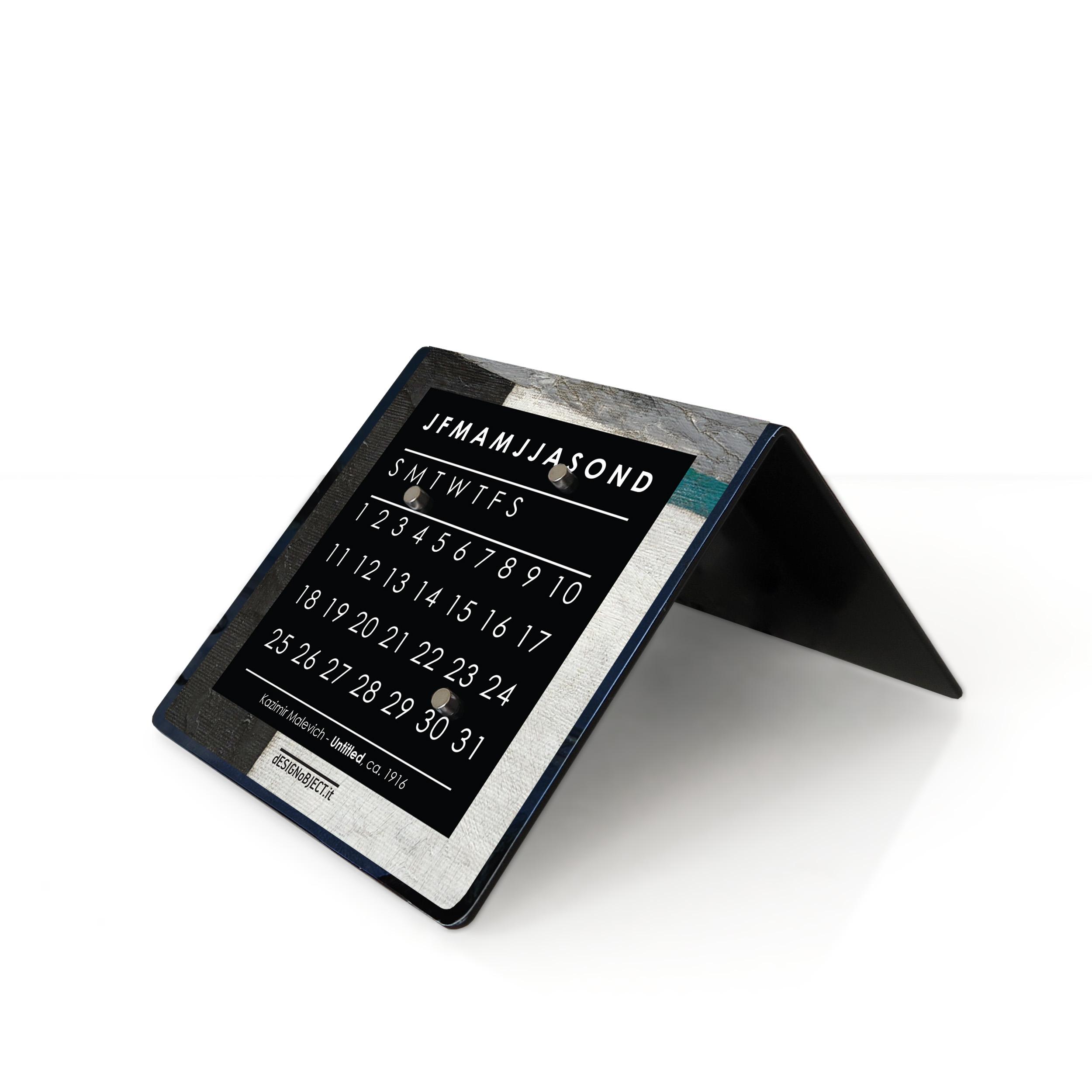 Orologio Design calendario perpetuo Malevich Guggenheim bookshop