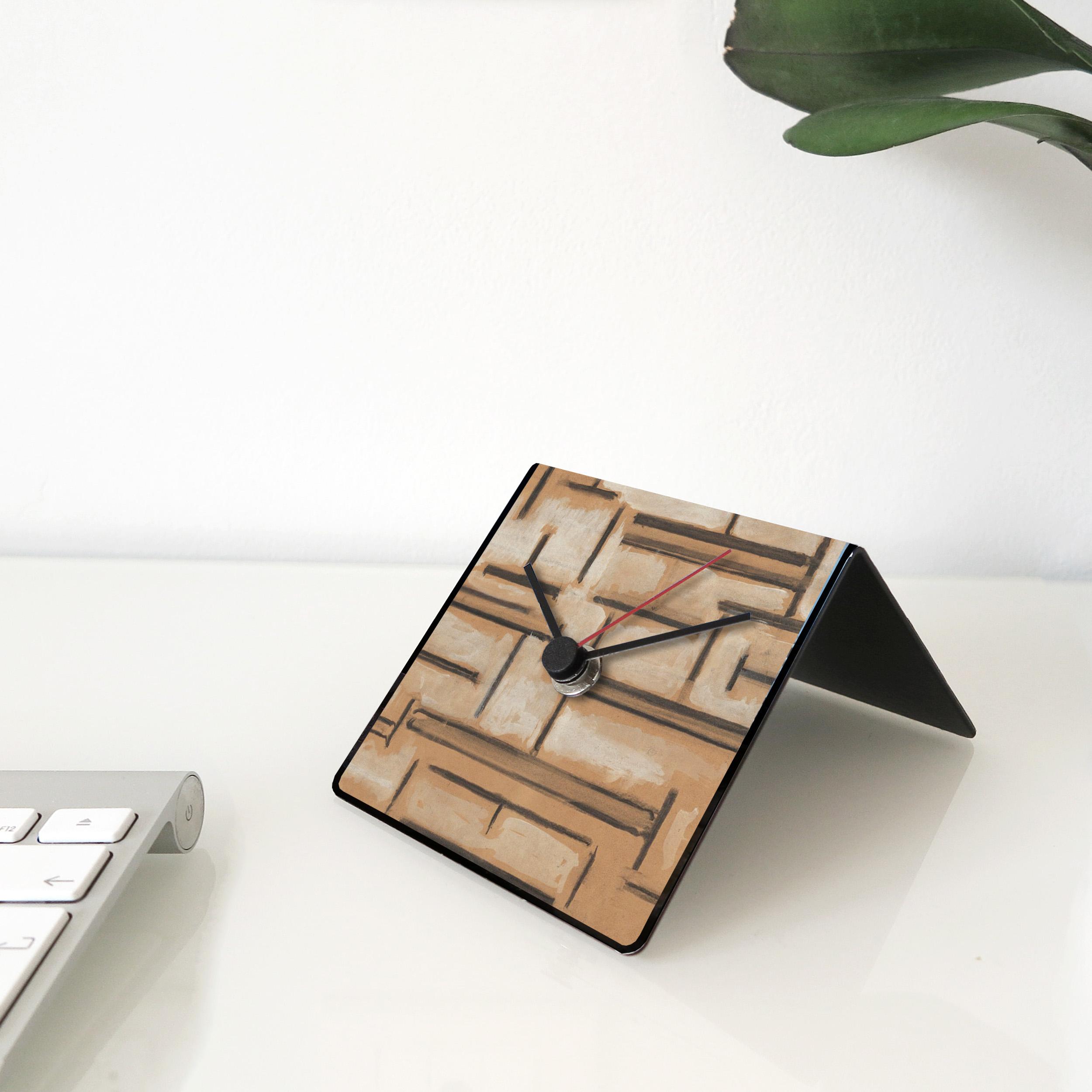 desk clock Mondrian Peggy Guggenheim Collection