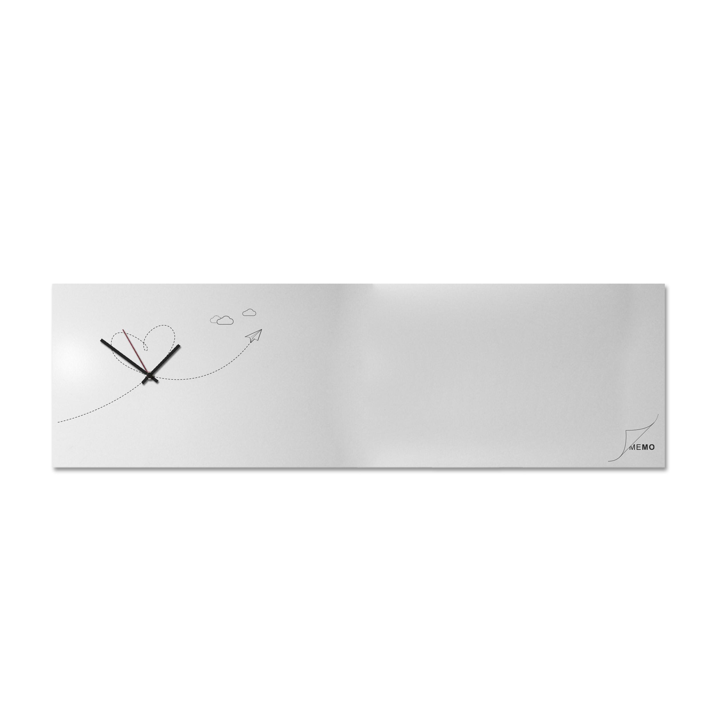 orologio da muro lavagna magnetica appunti ufficio