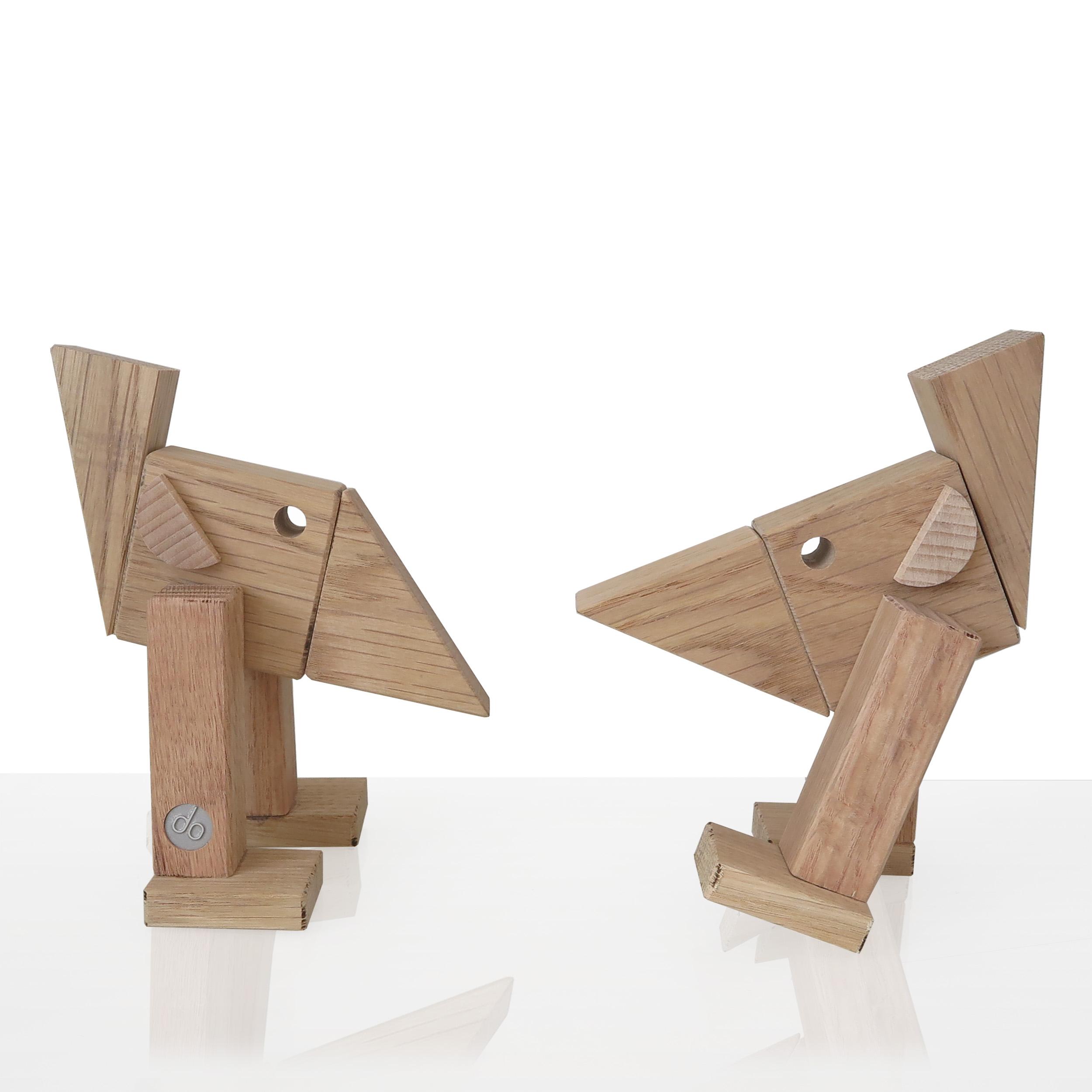 Wood toy design bird
