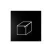 CUBE CLOCK Orologio da Parete Design Minimal
