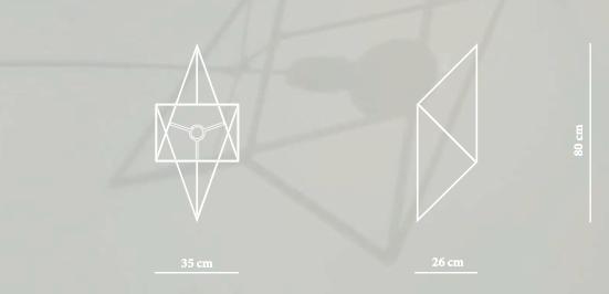 divina proportione lamp dimensions