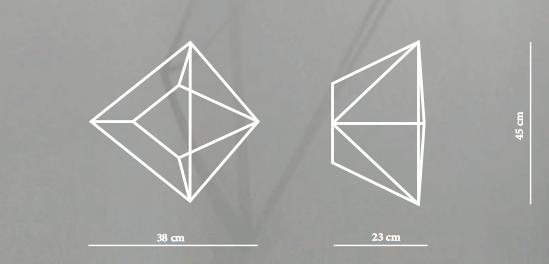 divina proportione dimensions