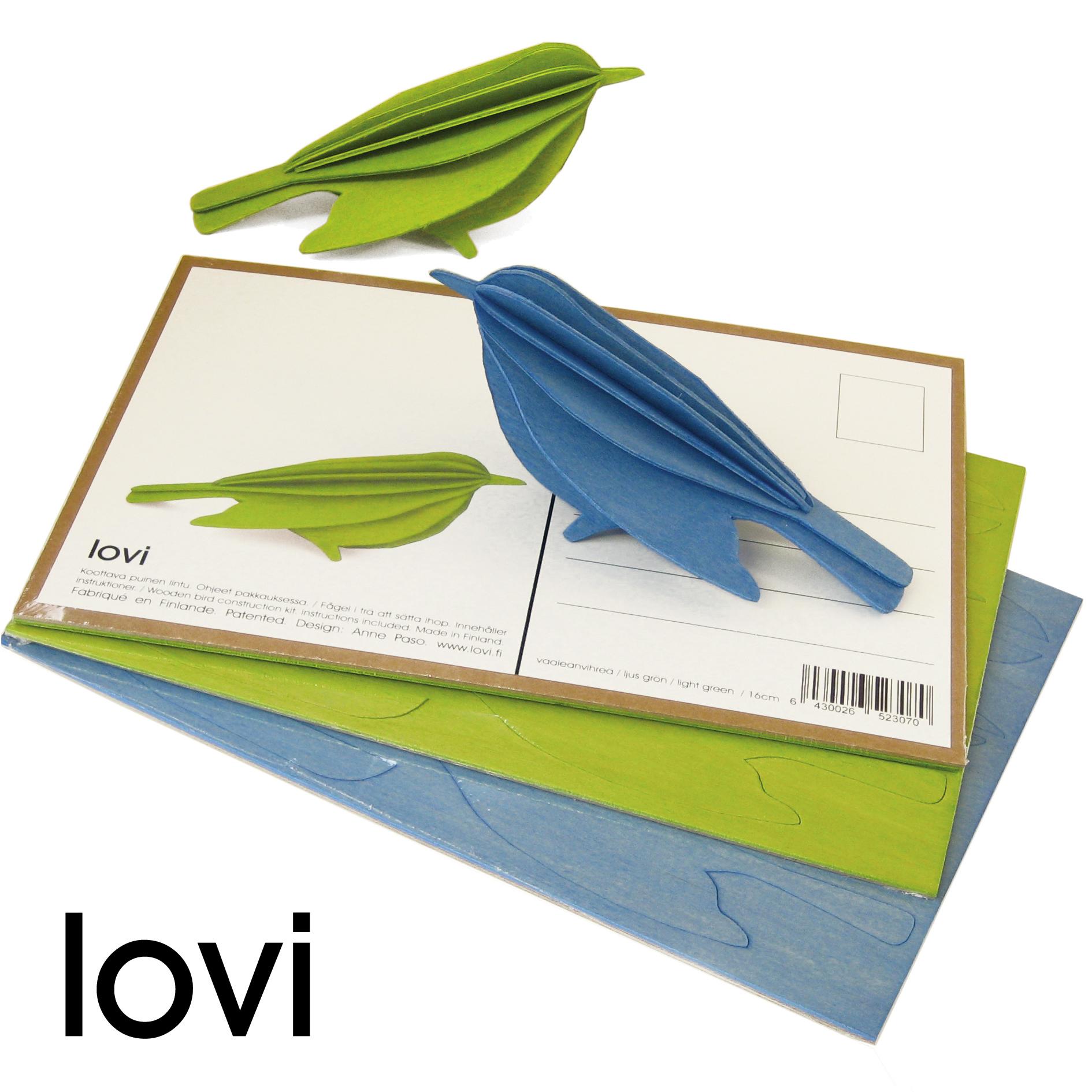 Lovi Bird Postcard