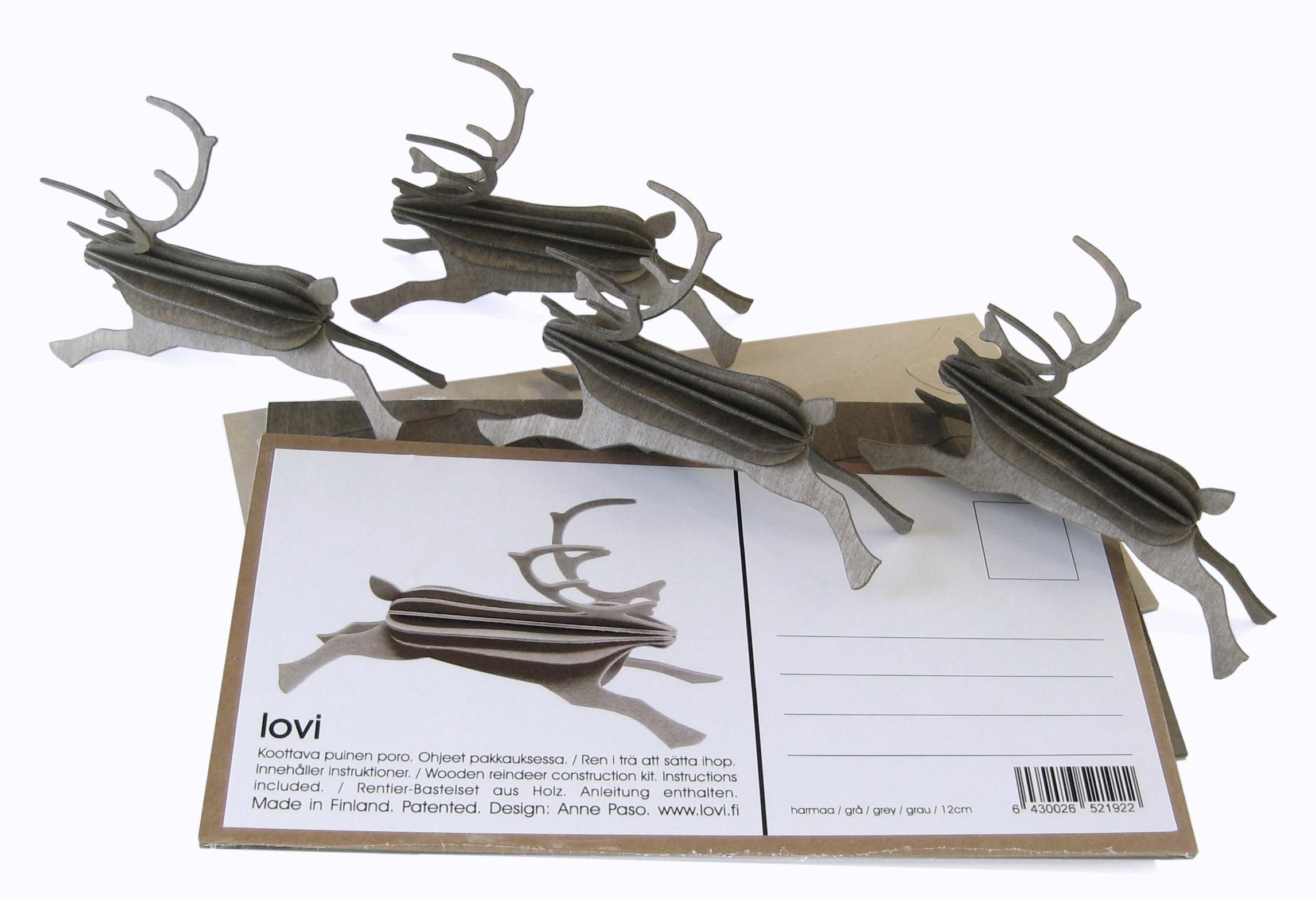 Lovi Reindeer Postcard