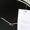 S-enso: modern, big wall clock. Italian Design