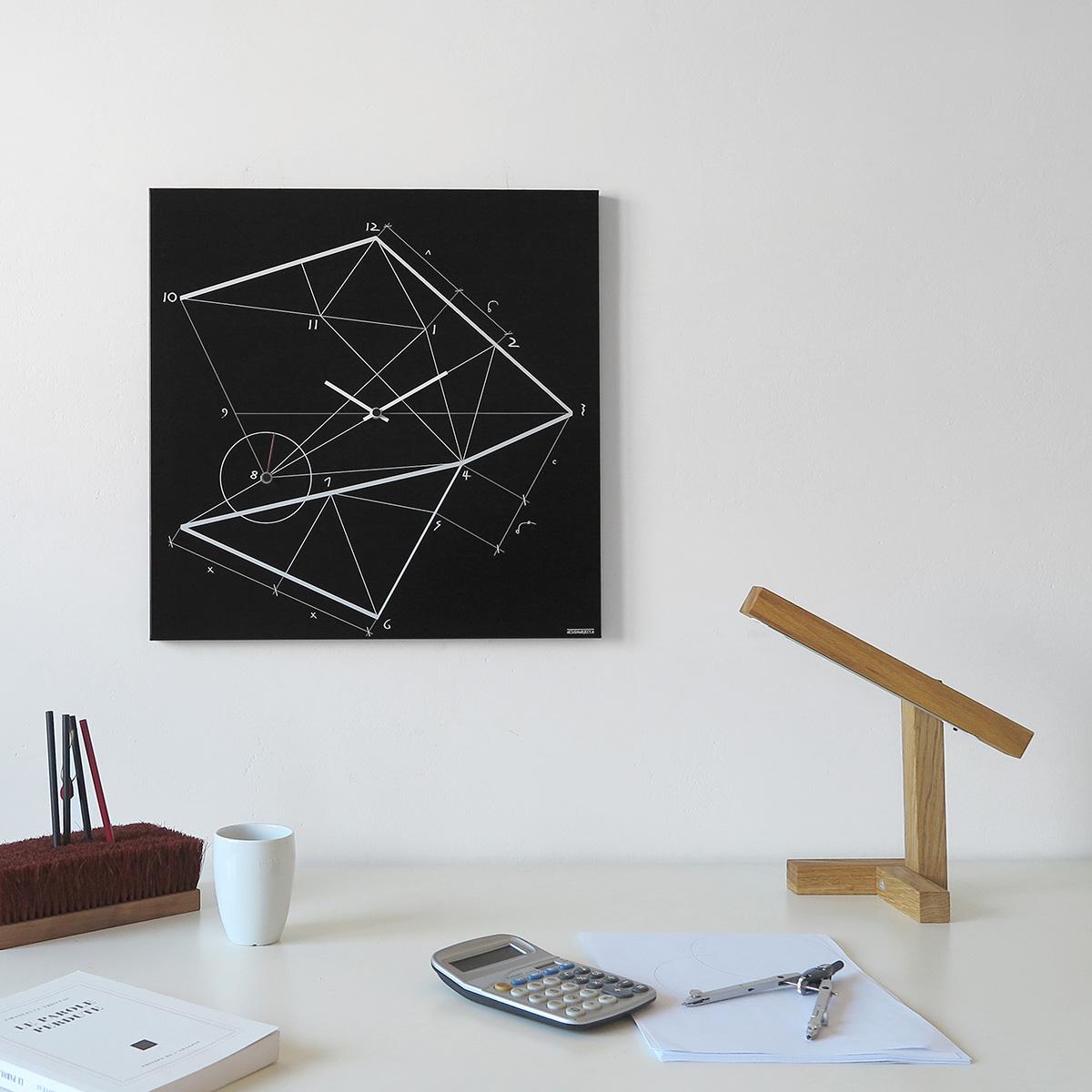 Time line orologio da parete design designobject - Orologi da parete moderni grandi ...