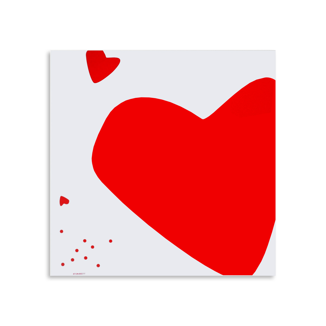 Lavagna Magnetica Design Heart