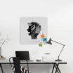 lavagna-magnetica-portafoto-magnetic-board-office-brainstorming