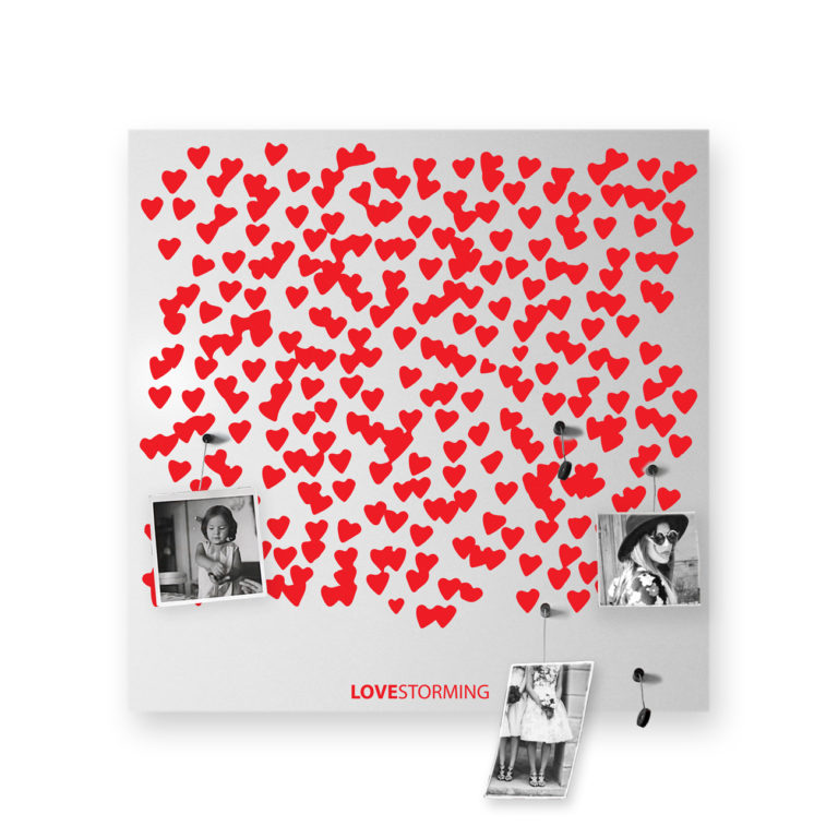 LOVESTORMING Portafoto di Design - Frasi d'Amore