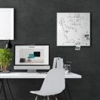 lavagna-magnetica-portafoto-magnetic-board-photo-holder-mood-beleza