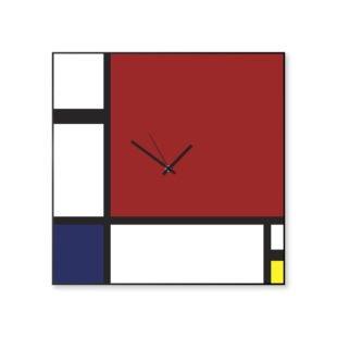 Orologio parete artistico Mondrian