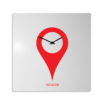 orologio-parete-design-wall-clock-you-are-here-white-red