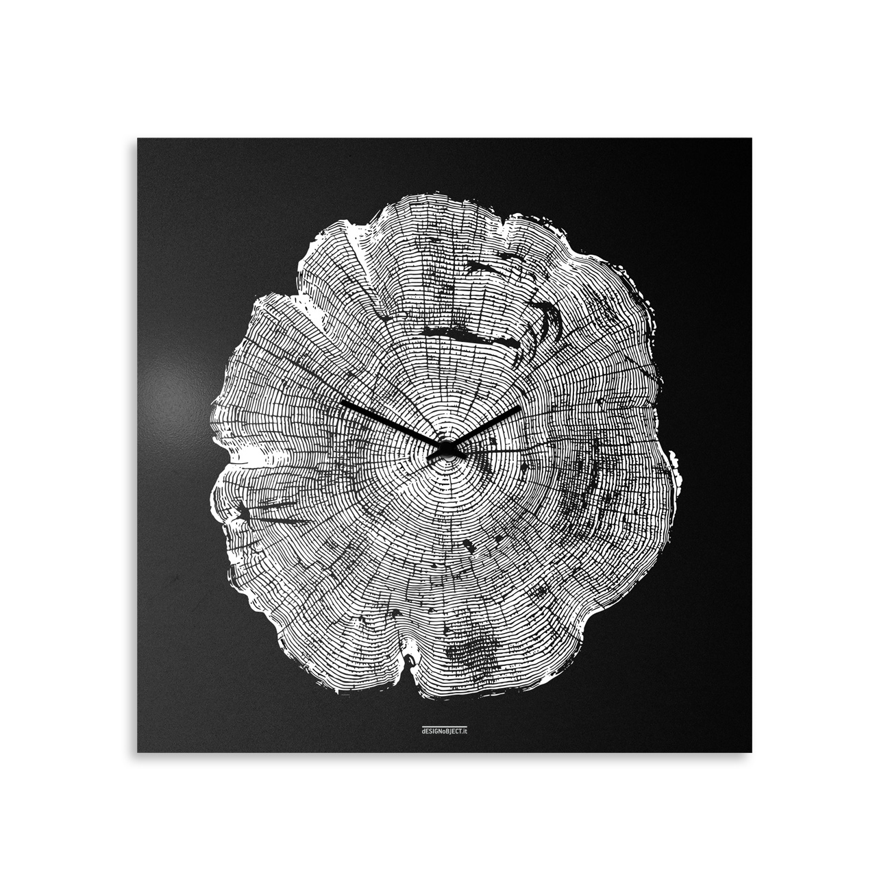 Life: modern, big wall clock. Italian Design