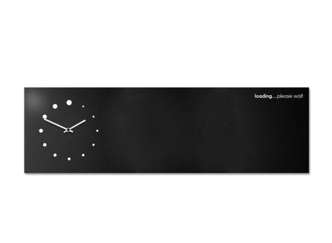 clock-magnetic-board-design-loading-black-designobject