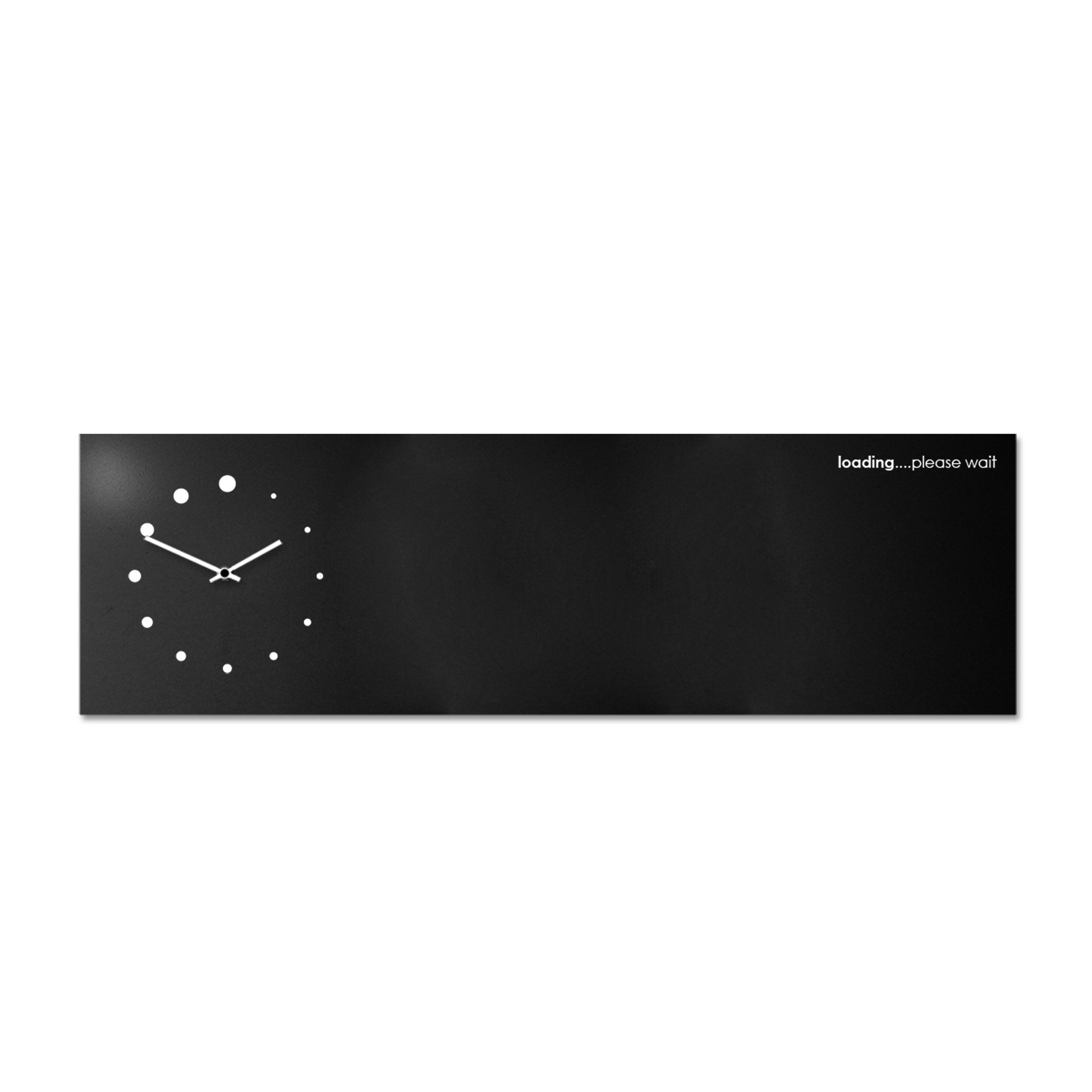 Loading: modern, big wall clock. Italian Design