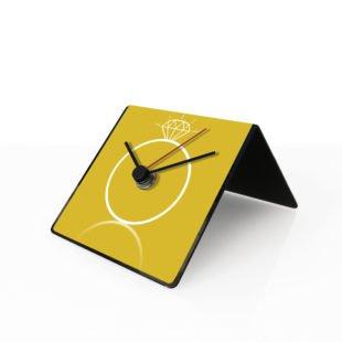 Orologio design table clock citazioni aforisma tempo prezioso