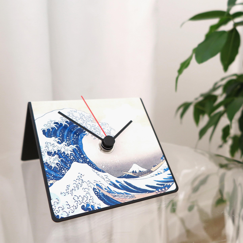 Hokusai art design wave onda