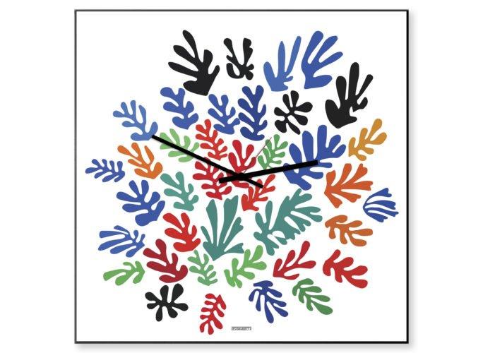 orologio moderno colorato arte Matisse
