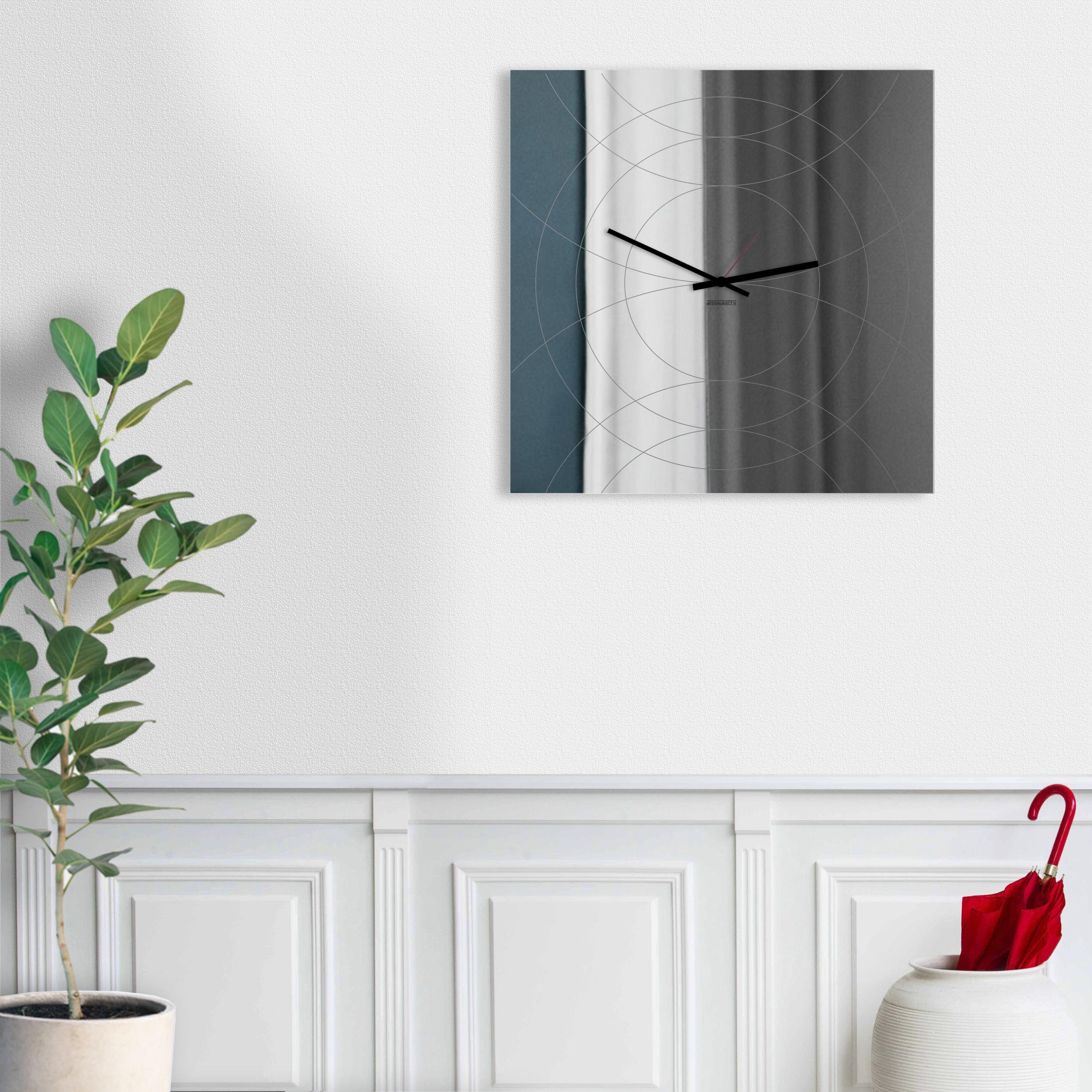 Mirror: modern, big wall clock. Italian Design | dESIGNoBJECT