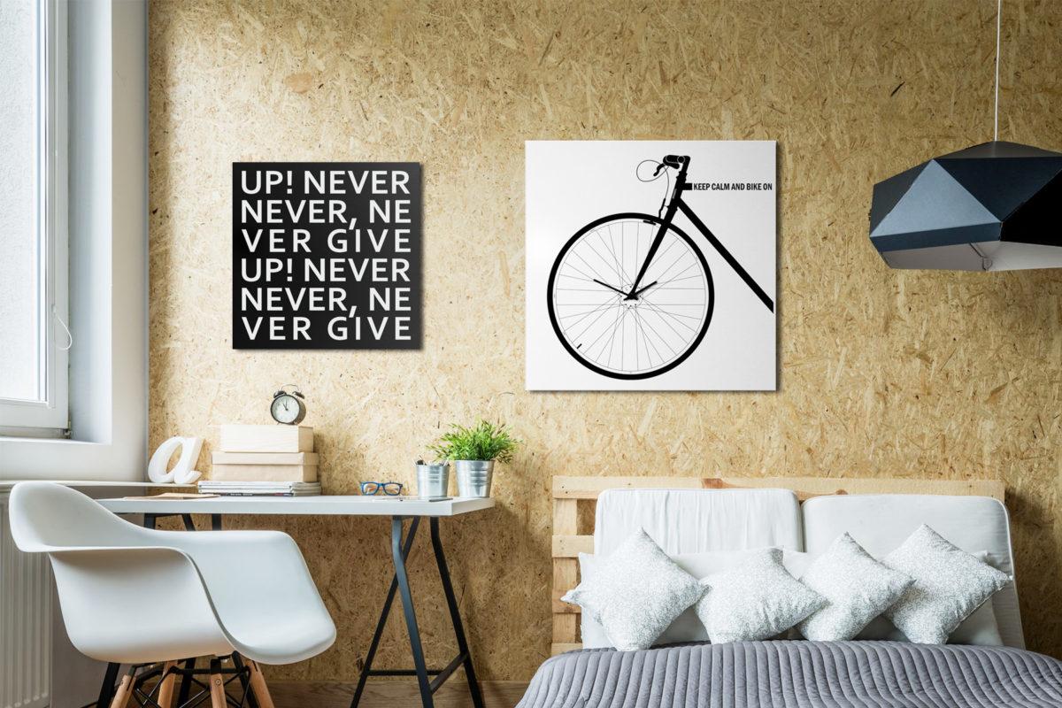 orologio bicicletta design bike clock